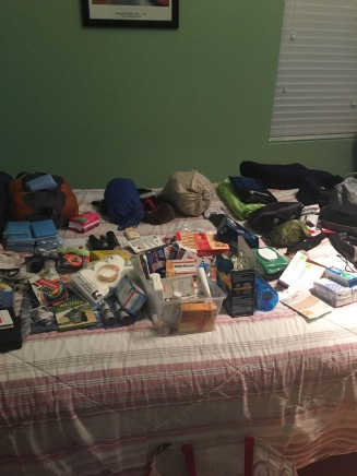 This is the rest of our stuff.